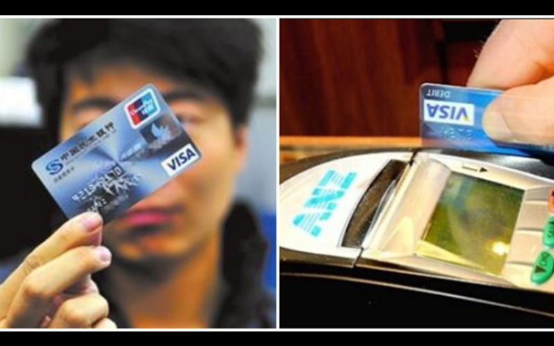 如果在刷卡結帳時發現店員做了「這個動作」,一定要趕快報警,因為你的信用卡已經被複製了!  -