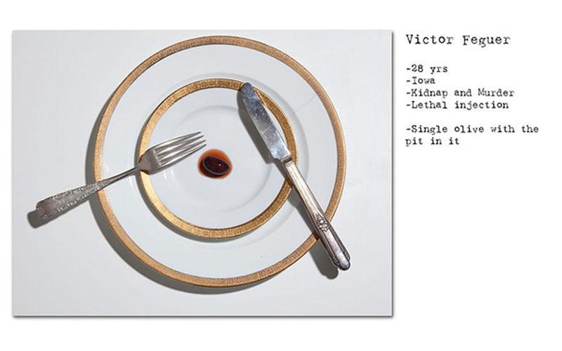 離奇!攝影師拍下死刑犯們處死前「最後的晚餐」…有人竟然只點了一顆橄欖?  -