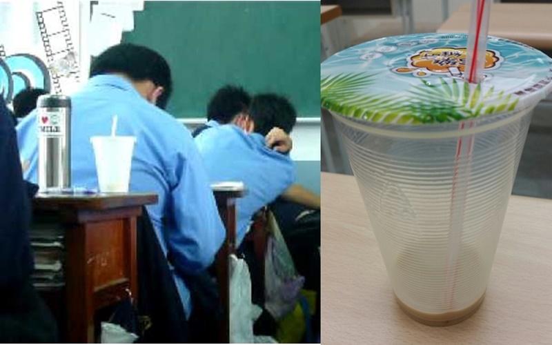 太糗啦!喝完早餐店奶茶在上課中突然有屎意,偷偷放了無聲屁卻炸裂....  -