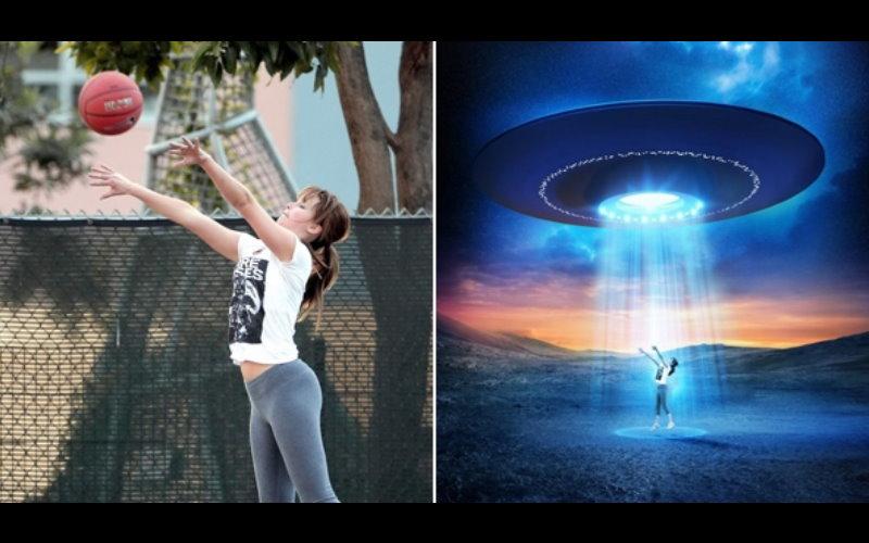珍妮佛勞倫斯打籃球的照片因「姿勢太萌」而引起「PS大神」現身kuso,各種誇張的想像力快把她玩壞了!  -