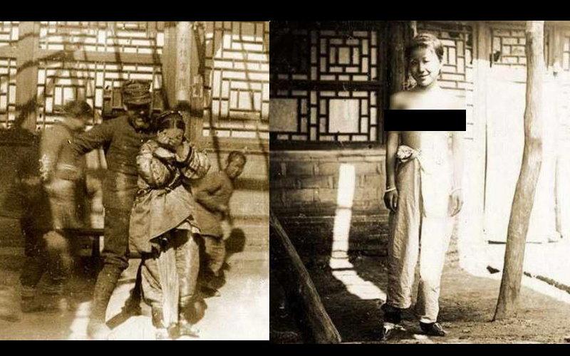 揭密八國聯軍侵入北京時舊照!女性被迫在街頭大玩羞辱Play、拍「上空照」!  -