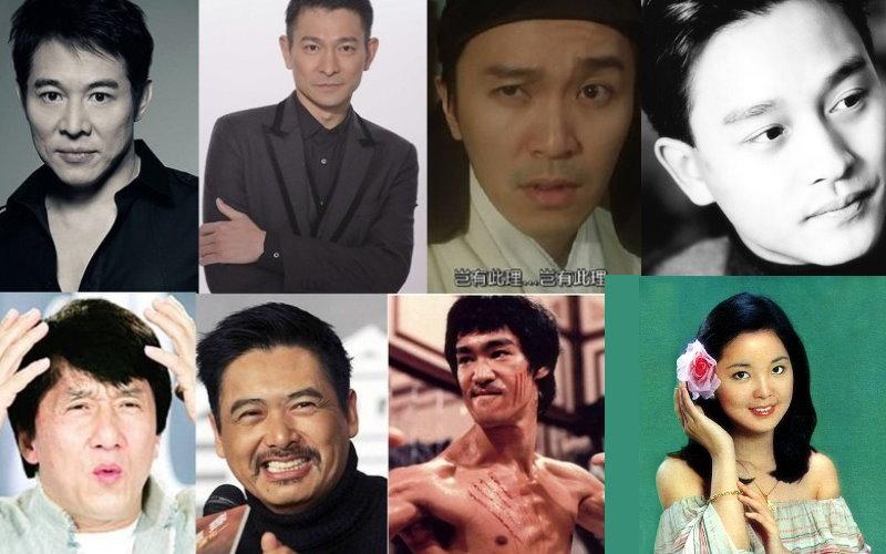 李小龍第二,李連杰墊底!華語最具影響力的明星,第一名果然是...!!  -