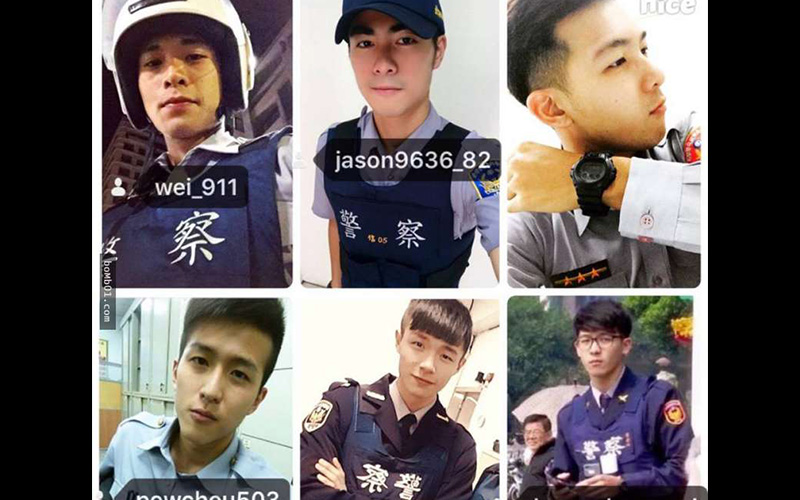 現在警察都這麼帥就是了!網友肉搜出「台灣5大爆紅帥警」,追蹤IG後每天迷妹都被迷到不省人事了!!  -