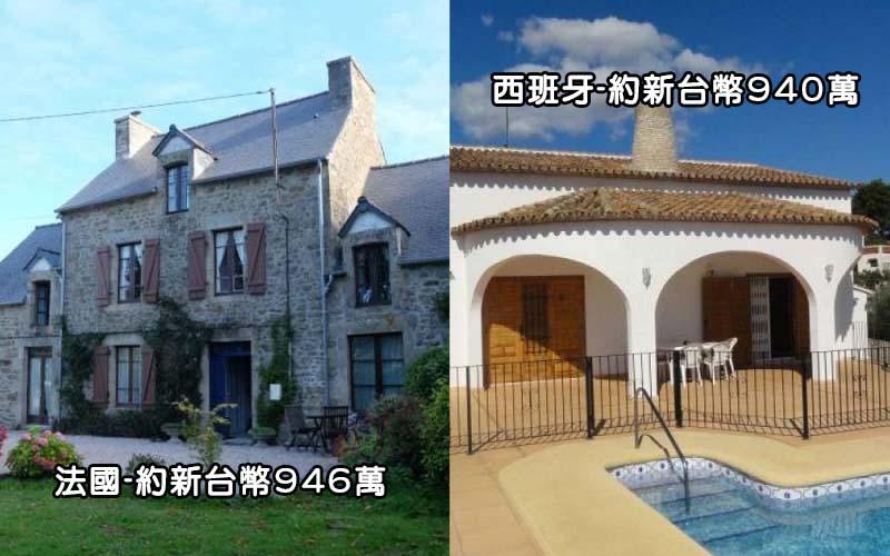 如果你有一千萬就能在「世界各國買到這些房子」,好啊台北的到底是有多悲哀!!!