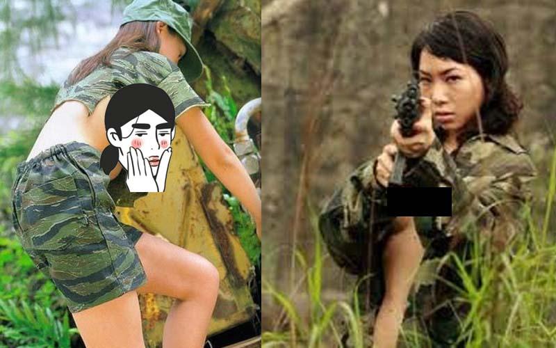 為您揭密為何那些越南女兵總是不穿內衣上陣,為了達到目的她們竟然還會脫...