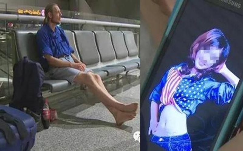 荷蘭男網戀強國整容女,為愛飛千里遭放鳥住在機場10天!現在又因為「這個原因」無法回國!