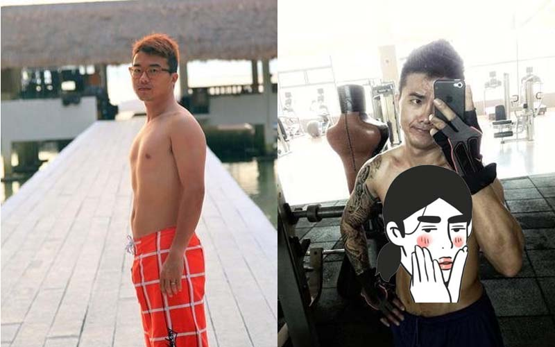 這個男子僅僅花了九十天就將自己從肥宅晉升成六塊肌型男,這差別根本重新投胎!