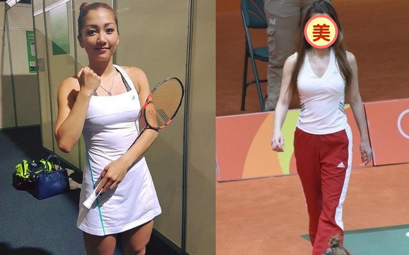 妖嬌教練vs性感選手!奧運羽球場上最吸睛的爆乳姐妹花!網友:這教練身材太火辣!
