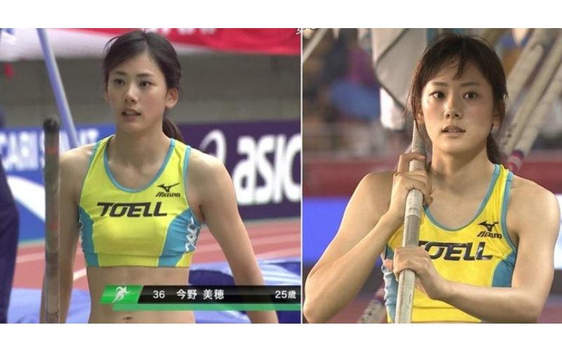 田徑場上的「新垣結衣」!日本超高顏值撐竿跳美少女成功跳入觀眾的心裡!
