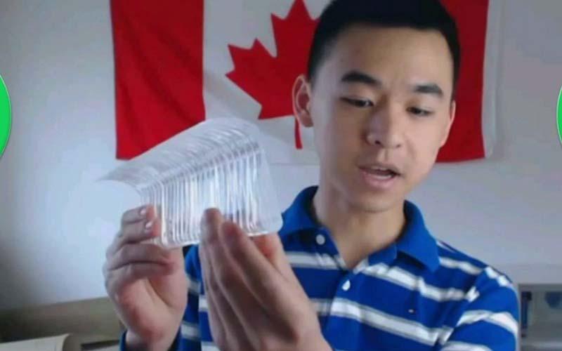 天才阿!超狂17歲少年竟提出「這項發明」估計可省下全世界「96兆台幣」!