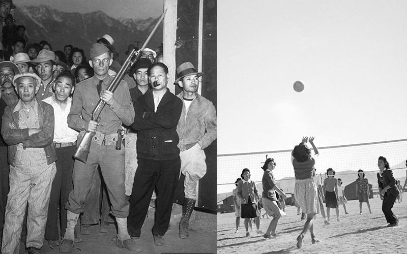 二戰時期在美國集中營的日本人原來都是這樣生活的!絕對顛覆你對集中營的想像:確定不是在度假?