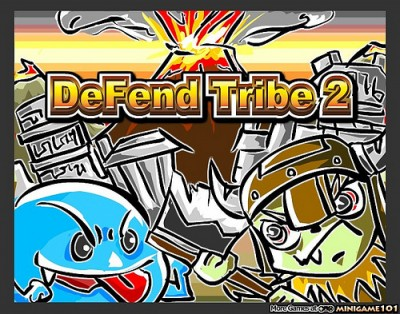 【介介】【借我做的遊戲】Flash Casual Game – Defend Tribe 2