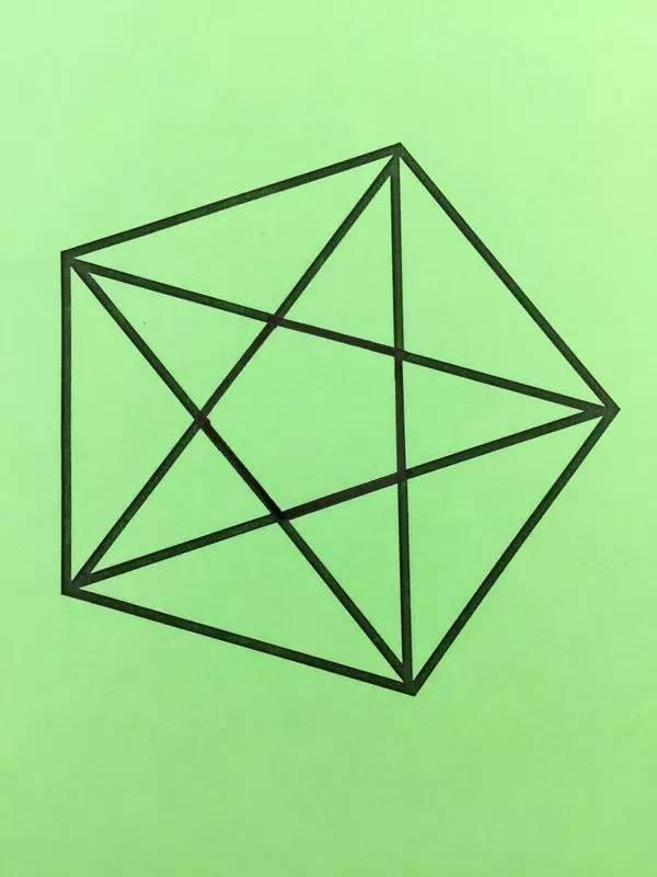 用一笔画完这些图,你能挑战成功吗 据说在20秒内完成的人智商极高喔