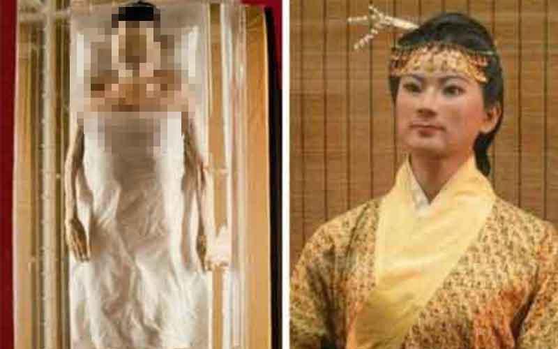 驚奇!!中國三大不腐女屍!乾隆最疼愛的女人竟美貌依舊...  -