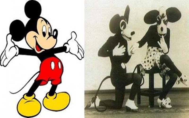 這些卡通人物以前長這樣?嚕嚕米長得未免也太.......了吧!  -
