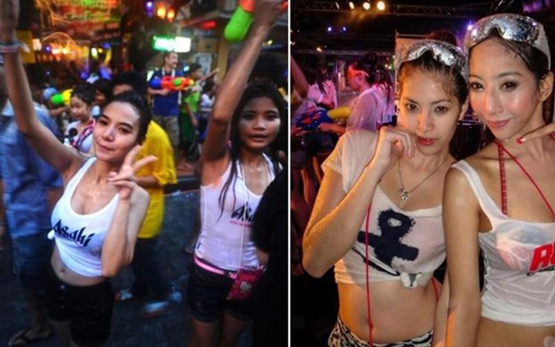 潑水節也是癢眼節!正妹們在泰國讓人射到全身濕透:水槍也跟著IN了  -