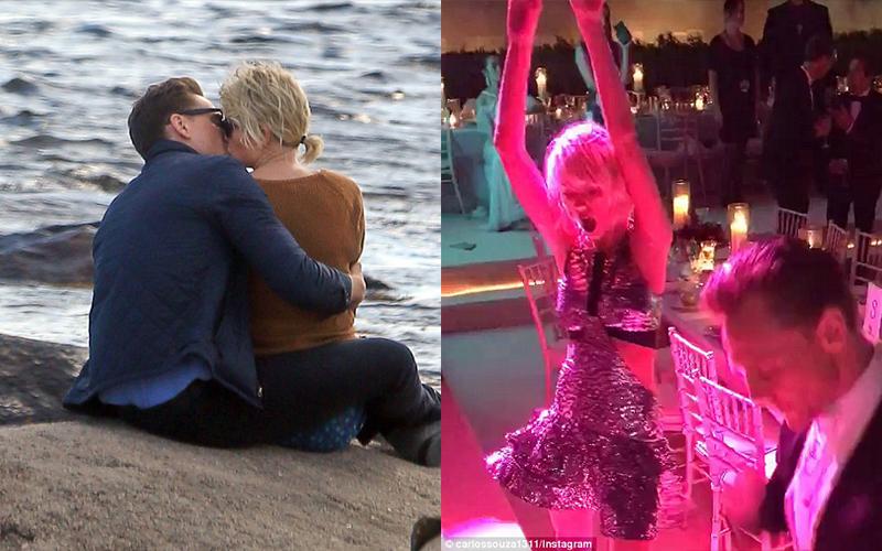 泰勒絲與「洛基」湯姆希德斯頓爆新戀情,狗仔直擊兩人沙灘熱吻:又一個無縫接軌!!前男友竟然還...  -
