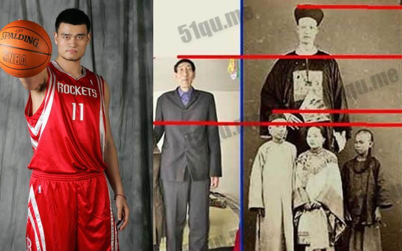 世界上最高的八個人,姚明竟然都還比他們矮?!第一高的太扯了!!