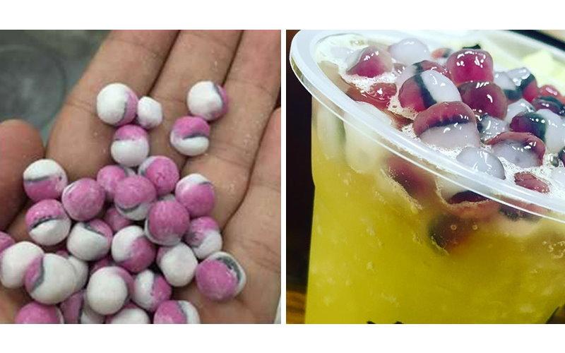 超吸睛!搶搭寶可夢熱潮!台灣手搖飲料全球首創研發超可愛「珍珠寶貝球」!