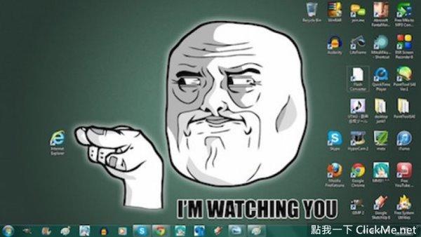 IE瀏覽器到底有多討人厭?網友用「電腦桌布」來告訴你!-2